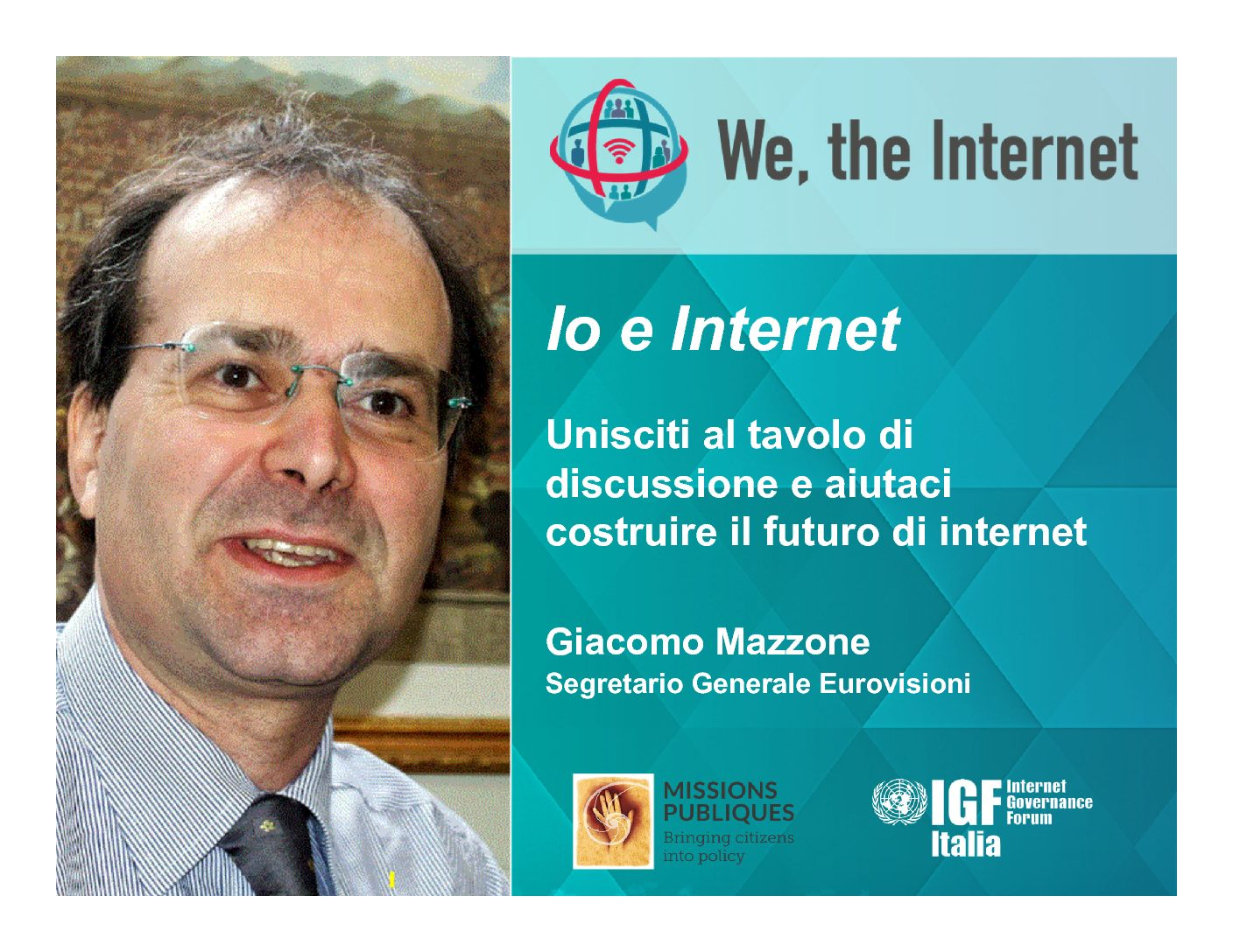 """We the internet"""